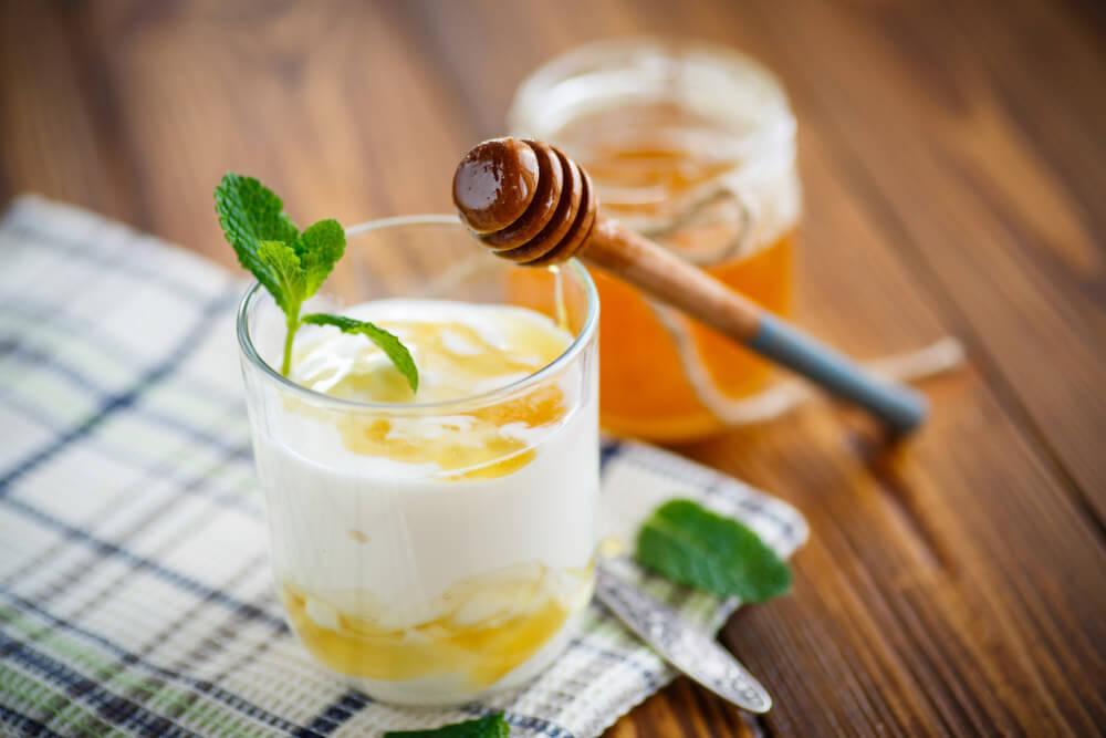 Healthy yogurt drinks